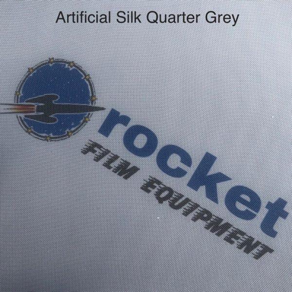 Lighting Textile Artificial Silk Quarter Grey