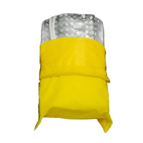 Lighting Textile / Rag - Rocketflector Silver 12x12